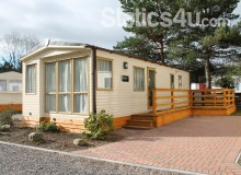 Executive 6 Berth Caravan For Hire On A Peaceful Holiday Park Near Aviemore.