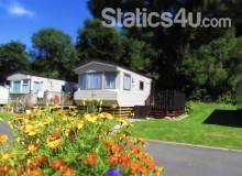 Static holiday home that sleeps 6 in award winning park