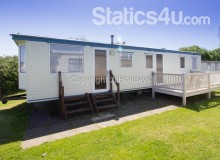 Caravan for hire at Broadland sands Holiday park in Suffolk. 2 night stays from £84.01