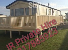 Luxury 6 Berth Static Caravan for Hire on Sand-Le-Mere Holiday Village Roo's near Withernsea East Yorkshire.
