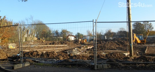 Primrose Valley Holiday Park 2015 Site Development